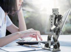 ROS対応教育用人型ロボット